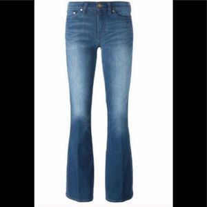 TORY BURCH Glory Blue Flare jeans Size 29